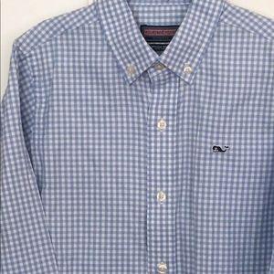 Vineyard vines boys button down shirt size 7